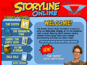 Storyline Screenshot